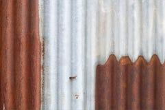 Fundo do zinco, oxidação do grunge e textura oxidados do fundo da corrosão fotos de stock