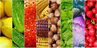 Fundo dos alimentos de Healhy Imagens de Stock