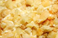 Fundo dos amendoins. Imagem de Stock