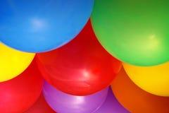Fundo dos balões fotografia de stock