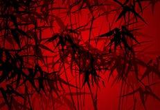 Fundo dos bambus: vetor Imagens de Stock Royalty Free