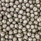 Fundo dos basebol Fotografia de Stock Royalty Free