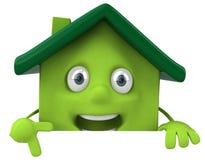 Fundo dos bens imobiliários Imagens de Stock Royalty Free