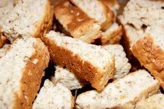 Fundo dos biscoitos Fotografia de Stock