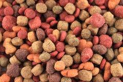 Fundo dos bits do alimento de cão foto de stock royalty free