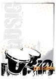 Fundo dos bongos Fotografia de Stock Royalty Free