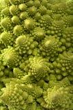 Fundo dos bróculos do romanesco do repolho Imagem de Stock Royalty Free