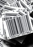 Fundo dos códigos de barras Fotos de Stock Royalty Free