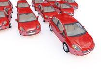 Fundo dos carros ilustração royalty free