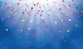 Fundo dos confetes Imagem de Stock