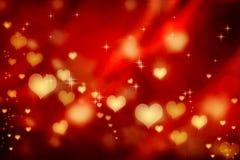 Fundo dos corações ilustração do vetor