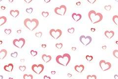 Fundo dos corações Fotos de Stock