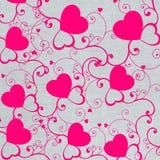 Fundo dos corações Imagens de Stock Royalty Free