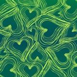 Fundo dos corações Imagem de Stock Royalty Free