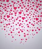 Fundo dos corações Fotografia de Stock Royalty Free