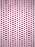 Fundo dos corações Foto de Stock Royalty Free