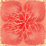 Fundo dos corações de Ray Foto de Stock Royalty Free