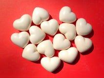 Fundo dos corações do Valentim Foto de Stock Royalty Free