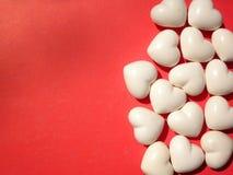 Fundo dos corações do Valentim Fotos de Stock