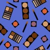 Fundo dos cosméticos Ilustração lisa Fotos de Stock Royalty Free