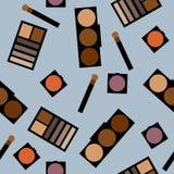 Fundo dos cosméticos Ilustração lisa do vetor Foto de Stock Royalty Free