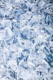 Fundo dos cubos de gelo. Imagens de Stock Royalty Free