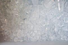 Fundo dos cubos de gelo Fotos de Stock Royalty Free