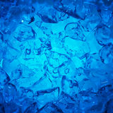 Fundo dos cubos de gelo Imagens de Stock