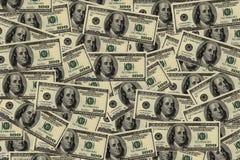 Fundo dos dólares Fotografia de Stock Royalty Free