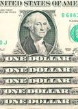 Fundo dos dólares americanos Imagens de Stock Royalty Free