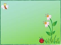 Fundo dos desenhos animados Foto de Stock Royalty Free