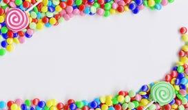 Fundo dos doces ilustração royalty free