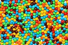 Fundo dos doces de chocolate fotografia de stock