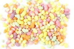 Fundo dos doces do arco-íris Imagens de Stock Royalty Free