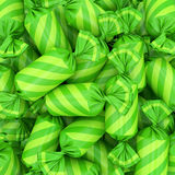 Fundo dos doces, rendição 3D Fotografia de Stock Royalty Free