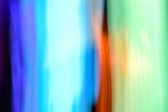Fundo dos efeitos da luz, fundo claro abstrato, escape claro fotografia de stock
