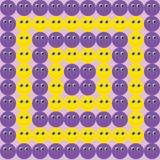 Fundo dos emoticons Fotos de Stock