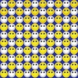 Fundo dos emoticons Foto de Stock Royalty Free