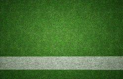 Fundo dos esportes na textura da grama Imagens de Stock