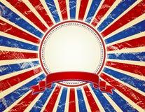 Fundo dos EUA, vetor Fotos de Stock Royalty Free