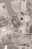 Fundo dos Euros Imagens de Stock Royalty Free
