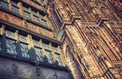 Fundo dos facads em Strasbourg Fotografia de Stock