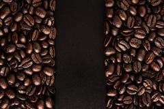 Fundo dos feijões de café Fotos de Stock