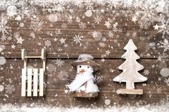 Fundo dos feriados de inverno Fotografia de Stock Royalty Free