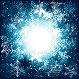 Fundo dos flocos de neve ilustração do vetor