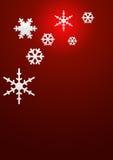 Fundo dos flocos de neve Fotos de Stock Royalty Free