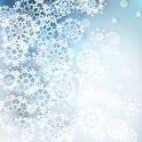 Fundo dos flocos de neve do Natal. EPS 10 Fotos de Stock