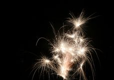 Fundo dos fogos-de-artifício Imagens de Stock Royalty Free