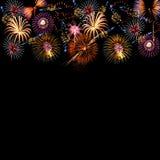Fundo dos fogos-de-artifício Imagem de Stock Royalty Free