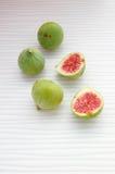 Fundo dos frutos frescos com figos Imagem de Stock Royalty Free